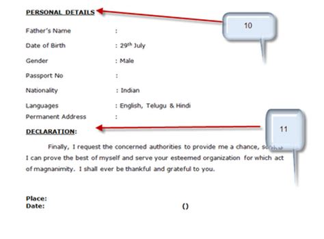 Resume format for bca freshers samples